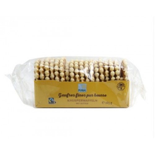GAUFRES FINES PUR BEURRE 165g