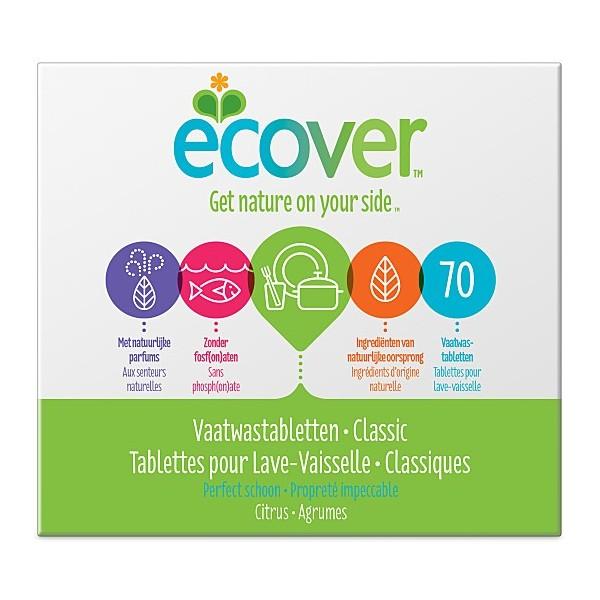 Tablettes Lave Vaiselle classic 70 pasti