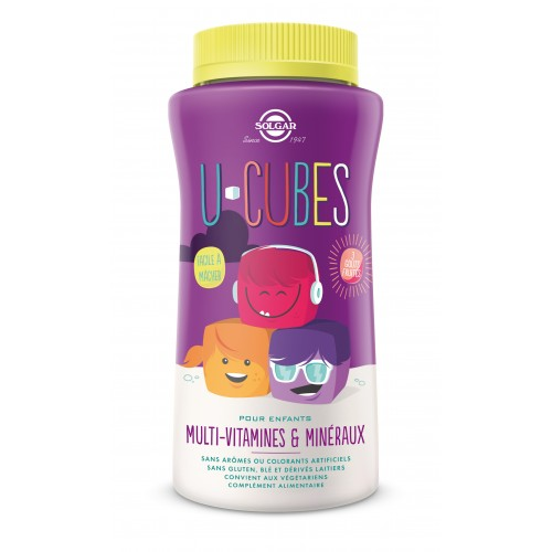 U-CUBES MUTIVITAMINES ENFANT 60 gummies