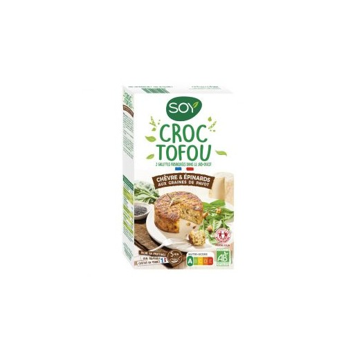 CROC TOFOU CHEVRE EPINARD 2x100g