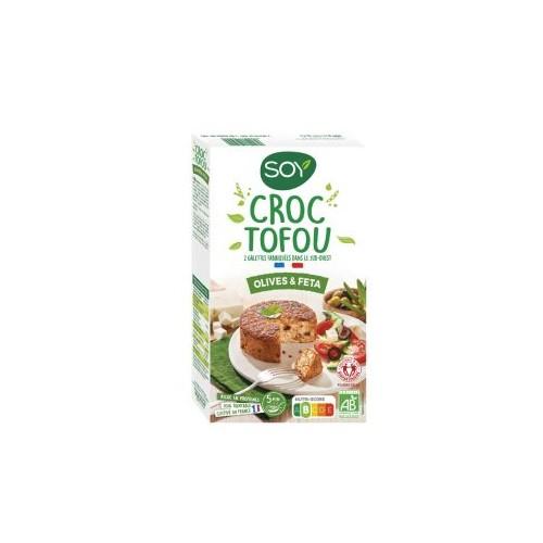 CROC TOFOU OLIVE FETA 2x100g