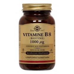 Vitamine B8 (Biotine) 1000 µg 50 Gélules