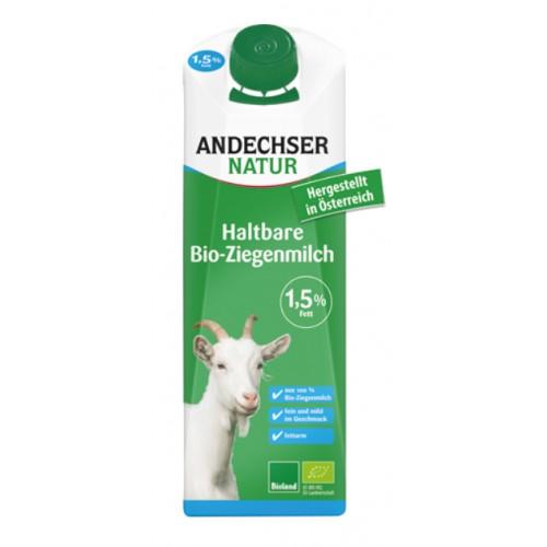 Lait chèvre longue conserv. 1.5 % 1L