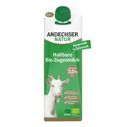 H-lait chèvre 3,2% Mg 1L