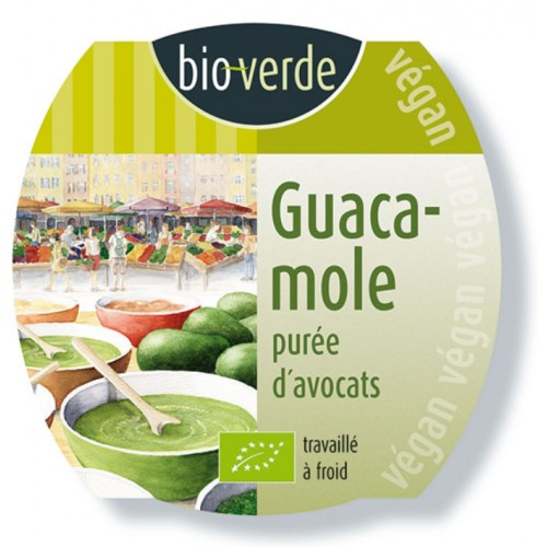 Guacamole Végan 150 gr
