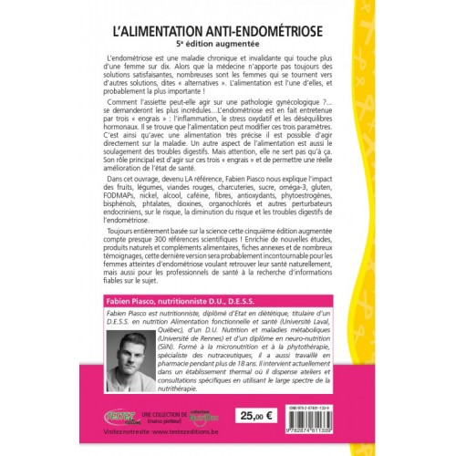 ALIMENTATION ANTI-ENDOMETRIOSE 272p