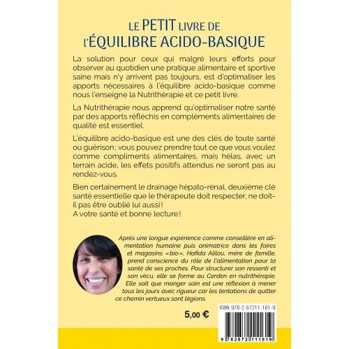 PETIT LIVRE EQUILIBRE ACIDO BASIQUE 96p