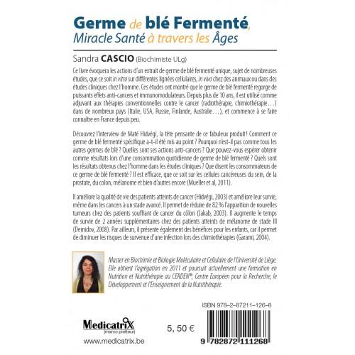 GERME BLE FERMENTE de Sandra CASCIO 128p