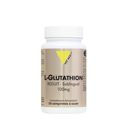 VIT'ALL+ L-GLUTATHION REDUIT SUBLINGUAL 100 MG 30 COMPRIMES