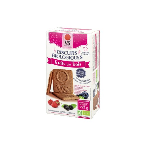 BISCUITS FRUITS BOISss sucre ss sel 225g