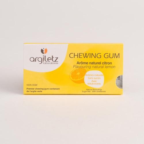 CHEWING GUM ARGIL'GUM CITRON Etui de 12