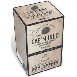 Capsules café bio DON JIMENEZ (bte 10)