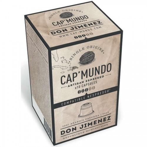 Capsules café DON JIMENEZ (bte 10)