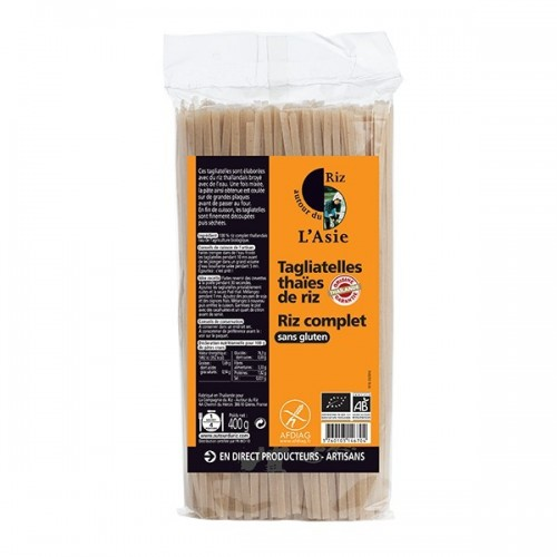 TAGLIATELLE THAIE RIZ COMPLET 400g