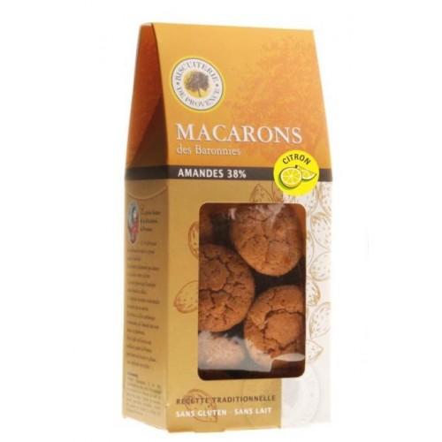MACARON AMANDE CITRON sans gluten 140g