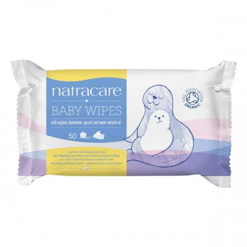 LINGETTES BEBE BABY WIPES (x50)