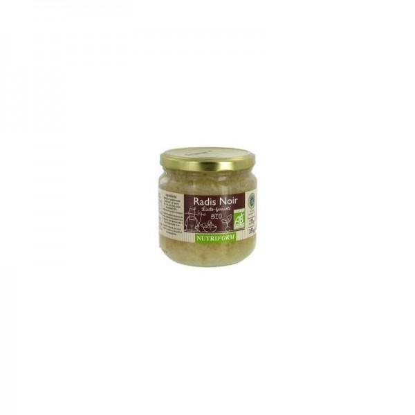 Radis noir lacto-fermentés bio 380 gr
