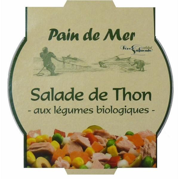Salade de thon aux légumes bio 250 gr