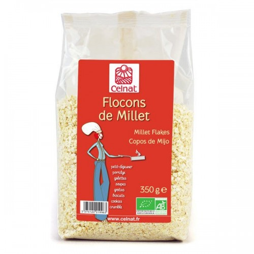 FLOCONS DE MILLET bio 350 gr