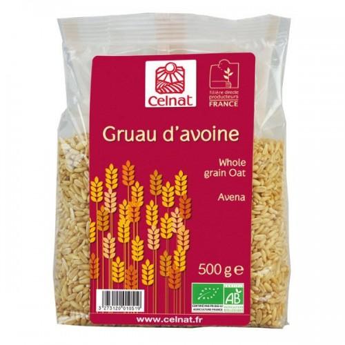 GRUAU D'AVOINE 500g