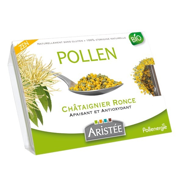 POLLEN CHATAIGNIER RONCE ARISTEE 250G