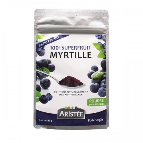 SUPERFRUIT MYRTILLE poudre 60g
