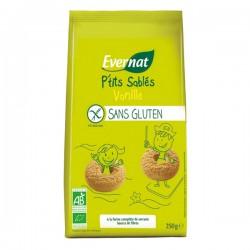 P'tits sablés vanille ss gluten 250 gr
